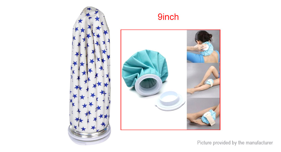 First Aid Sports Injury Muscle Aches Pain Releif Ice Bag Cap Hot Pack