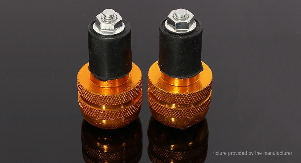 22mm 7/8'' Motorcycle Round Handlebar End Weight Balance Plug (Pair)