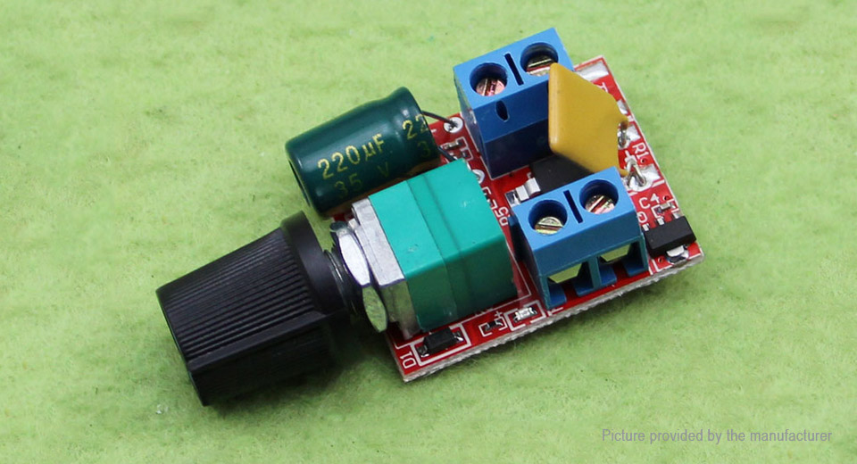 3-35V 5A 90W PWM Controller DC Motor Speed Controller