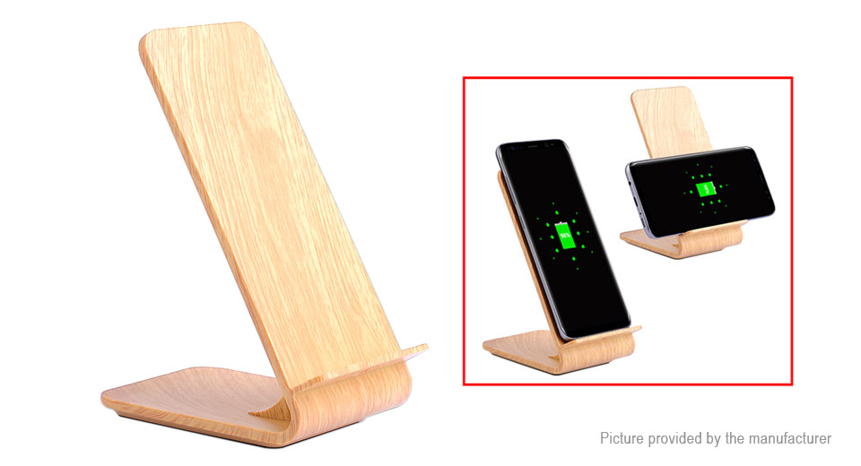 A8 2-in-1 Qi Wireless Charger Transmitter Cell Phone Holder