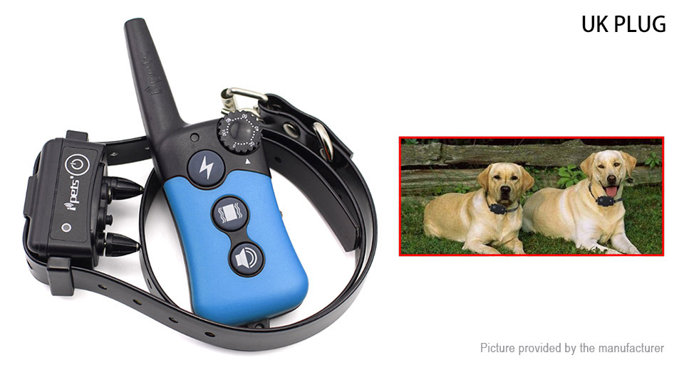 Rechargeable Remote Control Pet Dog Bark Control Training Shock Collar (UK)