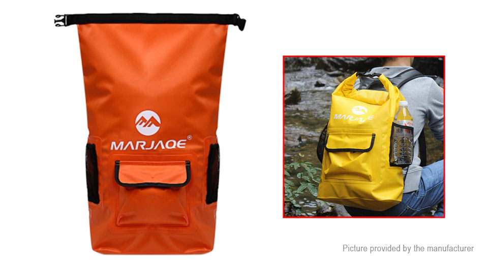 MARJAQE Outdoor Waterproof Drifting Backpack (22L)