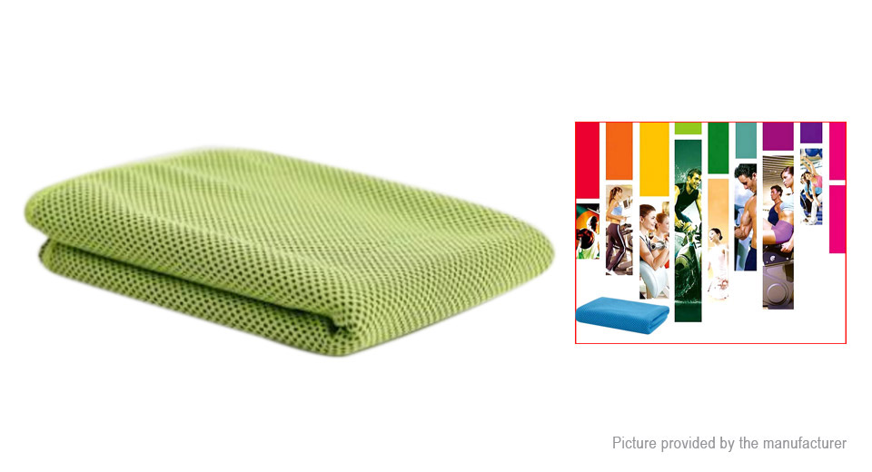100*30cm Microfiber Summer Cooling Towel Sports Travel Washcloth