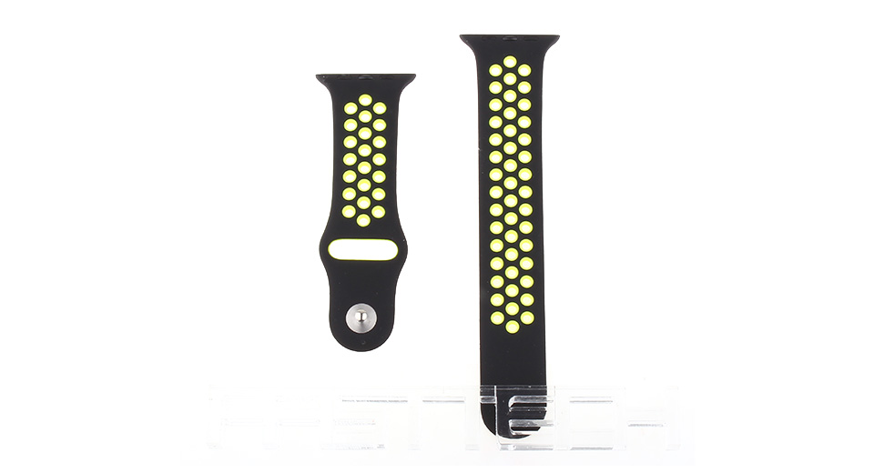 Silicone Replacement Watchband Strap for Apple Watch 42mm