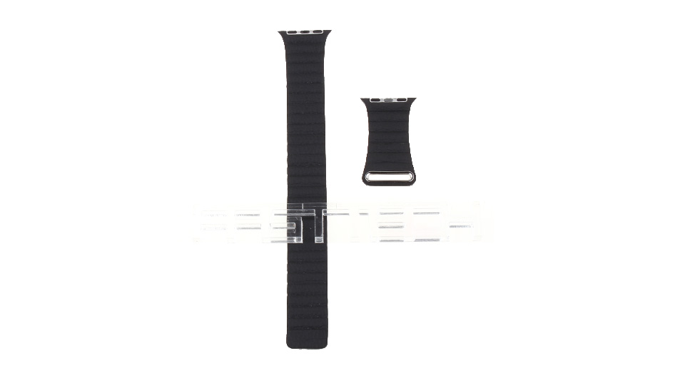 Leather Replacement Watchband Strap for Apple Watch 38mm