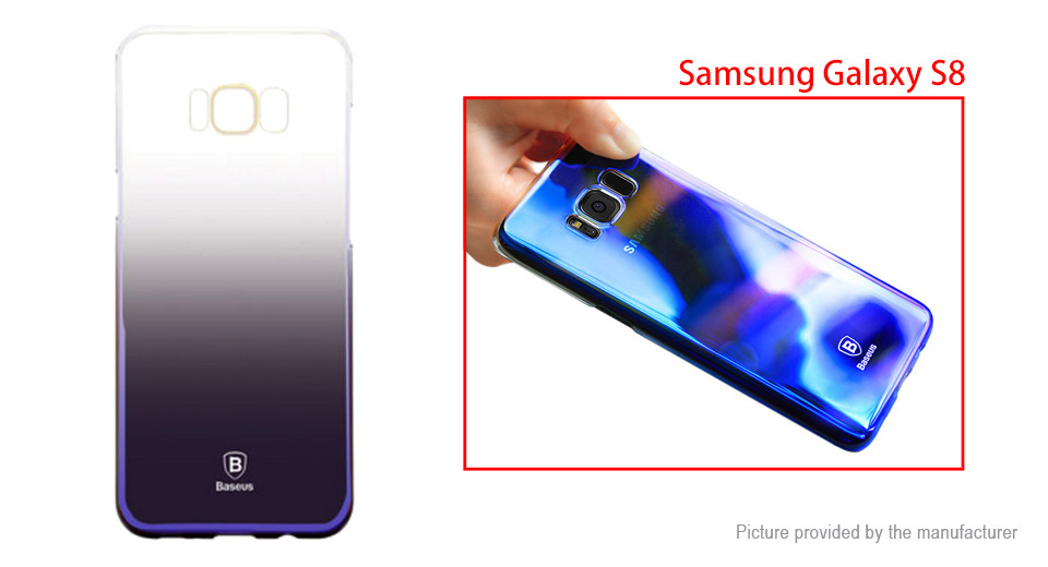 Baseus Glaze Series Gradient Color Protective Back Case Cover for Samsung Galaxy S8