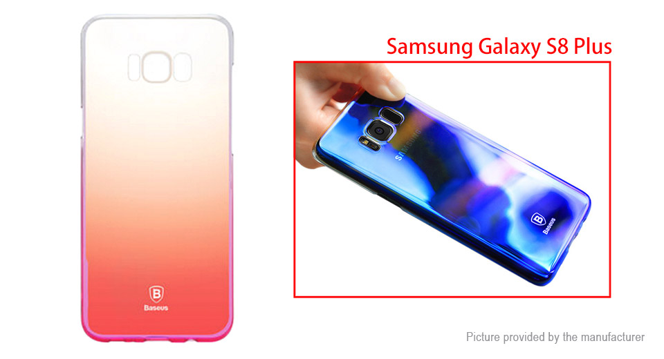 Baseus Glaze Series Gradient Color Protective Back Case Cover for Samsung Galaxy S8+