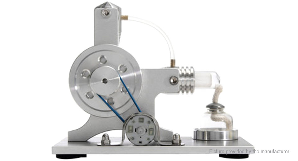 Stirling Engine Physical Motor Power Generator External Combustion Educational Toy