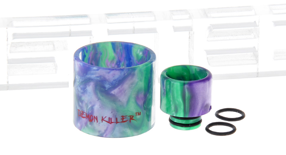 Authentic Demon Killer Replacement Resin Tank Kit SMOK TFV8 Baby Clearomizer Baby, (kit)