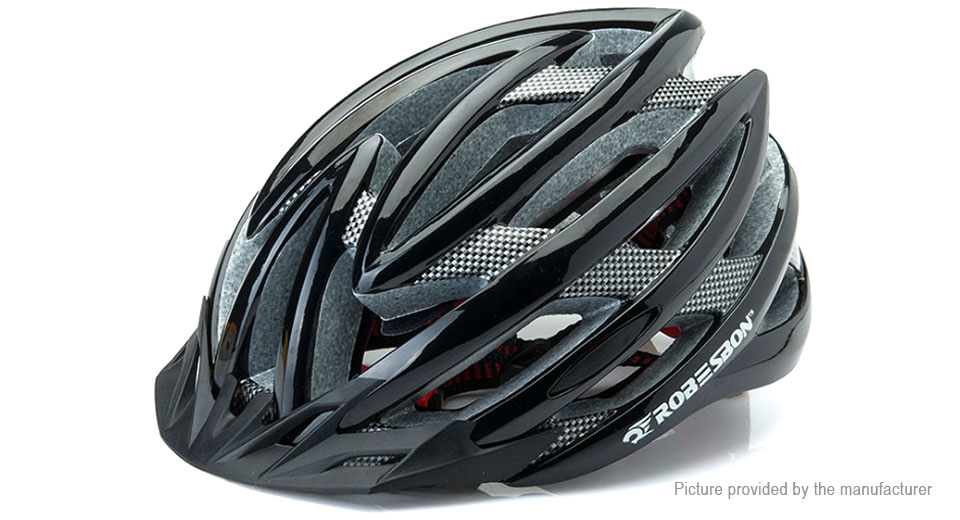 ROBESBON Integrally Molded Bicycle Cycling Helmet (Free Size)