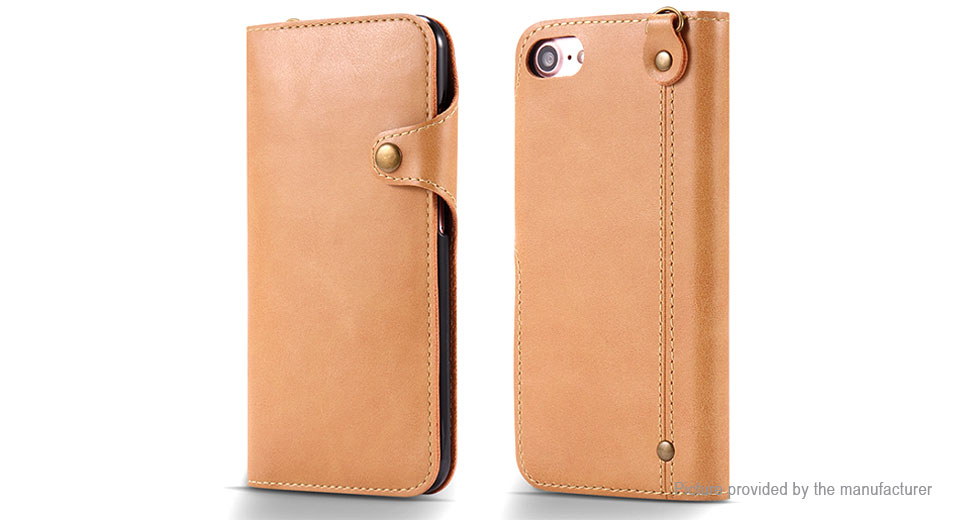PU Leather Protective Wallet Case Cover for iPhone 7