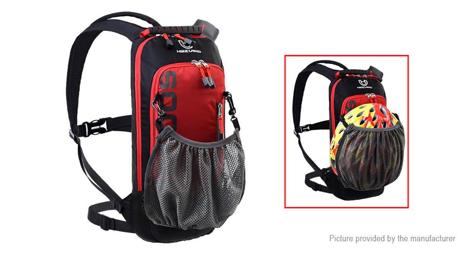 HIKELAND SOONGO Outdoor Cycling Nylon Backpack Mountaineering Bag, Red, 6L
