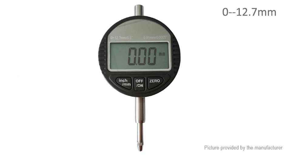 Image of 0-12.7mm Digital Dial Indicator Electronic Dial Gauge