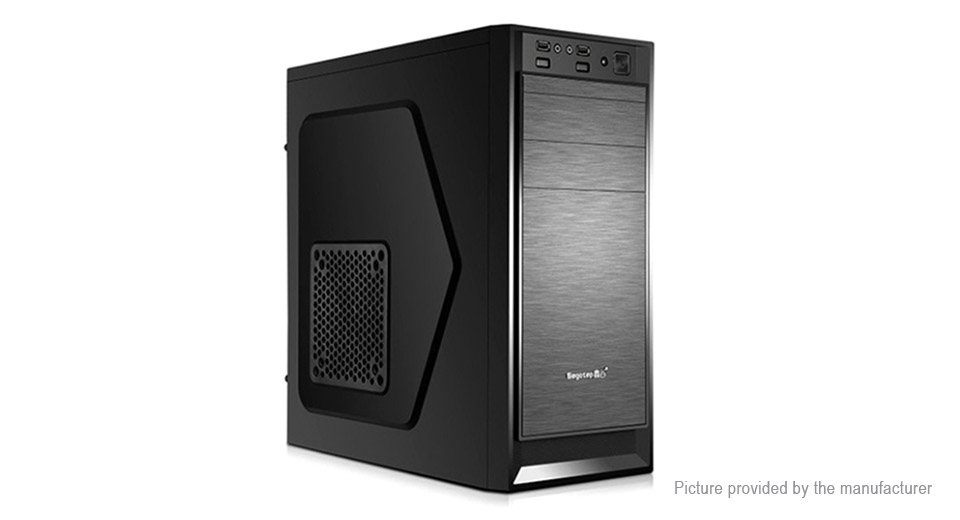 Segotep AND II Computer PC Case AND II, Black