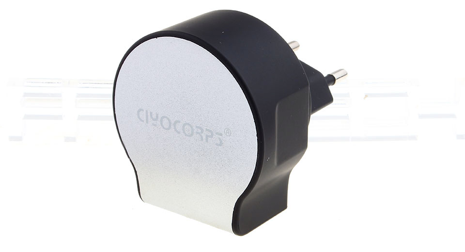 CIYOCORPS ES-D22 Quick Charge 3-Port USB Wall Charger (EU)
