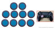 Buy Silicone Joystick Button Caps PS4 / PS3 Xbox One 360 (10-Pack) Blue + Red, 10-Pack