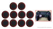 Buy Silicone Joystick Button Caps PS4 / PS3 Xbox One 360 (10-Pack) Black + Red, 10-Pack