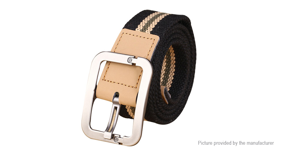Image of Unisex Needle Buckle Casual Canvas Waist Belt