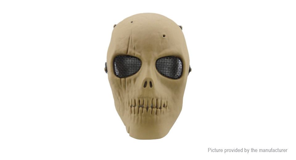 Skull Skeleton Full Face Mask Party Masquerade Mask