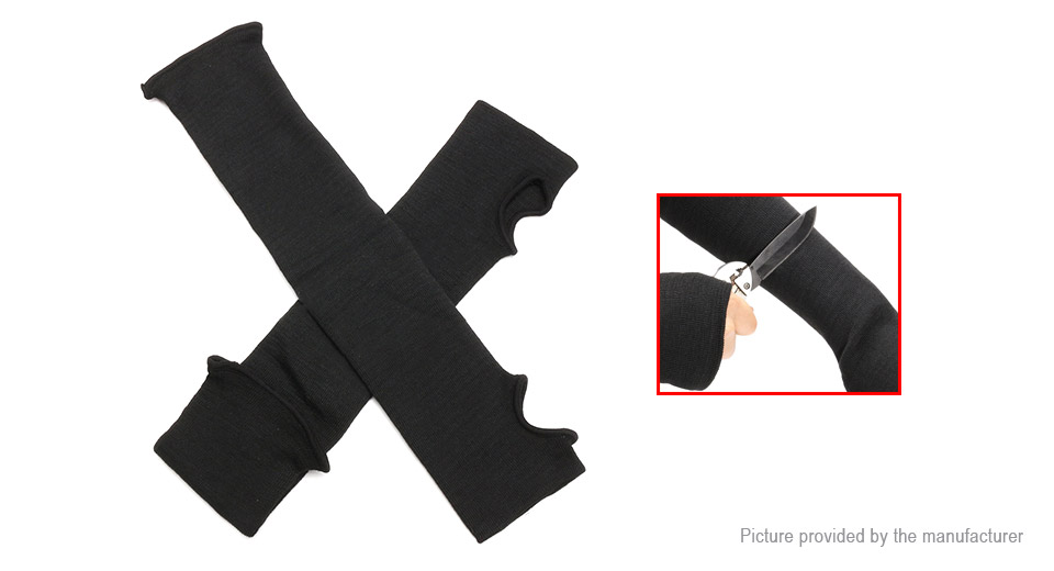 Image of 22cm Unisex Heat Cut Resistant Protection Arm Sleeve (Pair)