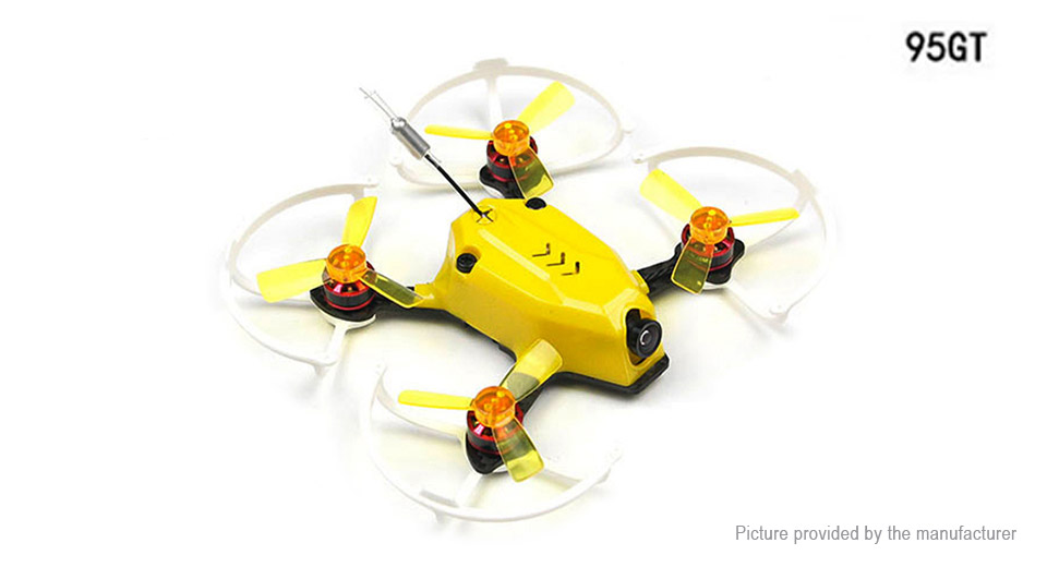 Kingkong 95GT FPV Racing Drone R/C Quadcopter (PNP, XM Receiver) Drone, 95GT, Yellow, PNP (XM Receiver)
