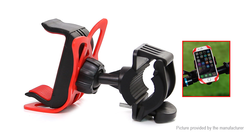 Universal Bicycle Handlebar Mount Cell Phone Holder Stand