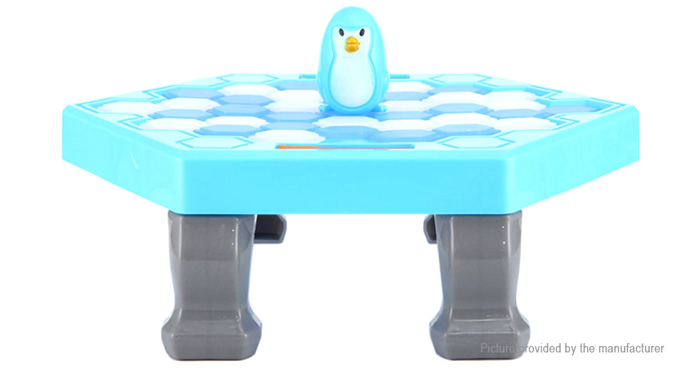 Interactive Ice Breaking Save Penguin Trap Family Kids Fun Game Activate Toy