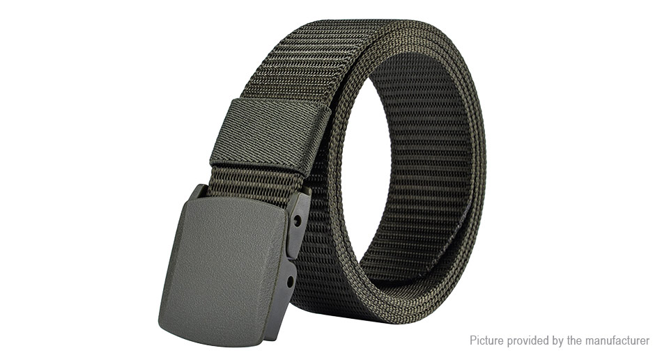 Image of 125cm Unisex Men Women Nylon Belt Military Tactical Waistband
