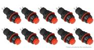 Buy DS-211 Self-locking NO Push Button Switch (10-Pack) DS-211, Black + Red for $2.26 in Fasttech store
