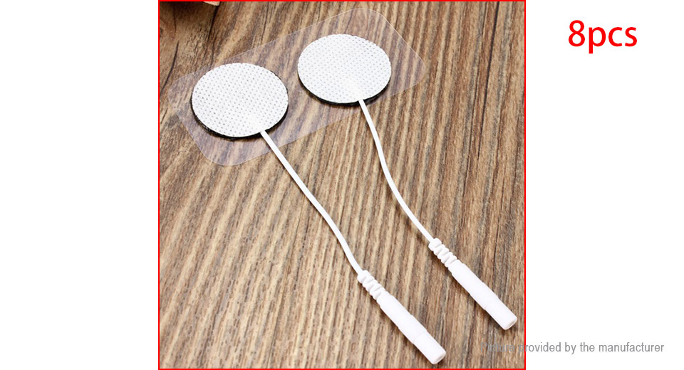 Image of 3.5cm Replacement Electrode Pad for TENS Machine (8-Pack)
