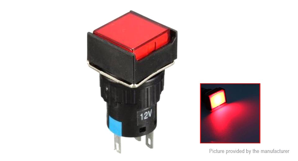 LAZ16J-11 OFF/ON Self-Reset Push Button Momentary Switch