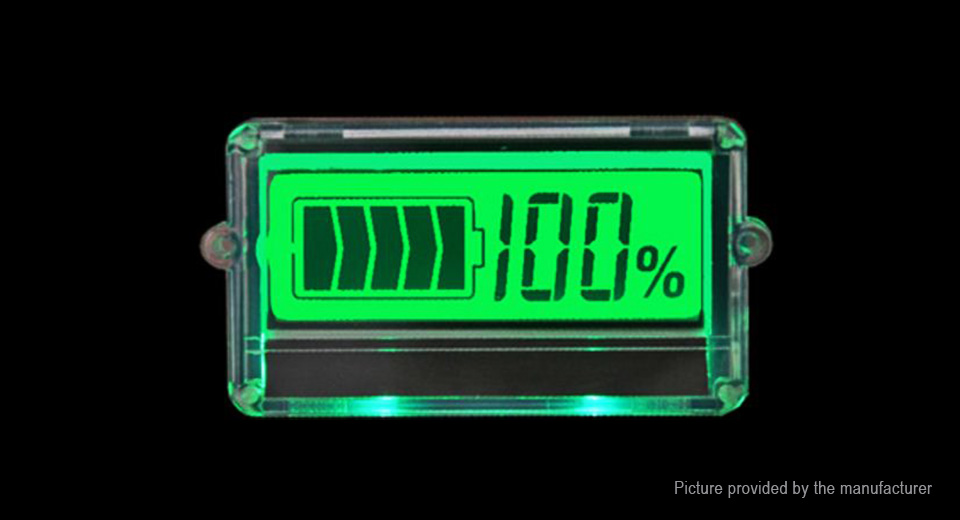 TH01 24V Lead-acid Battery Capacity Indicator Digital Voltmeter, TH01, 24V Lead-acid