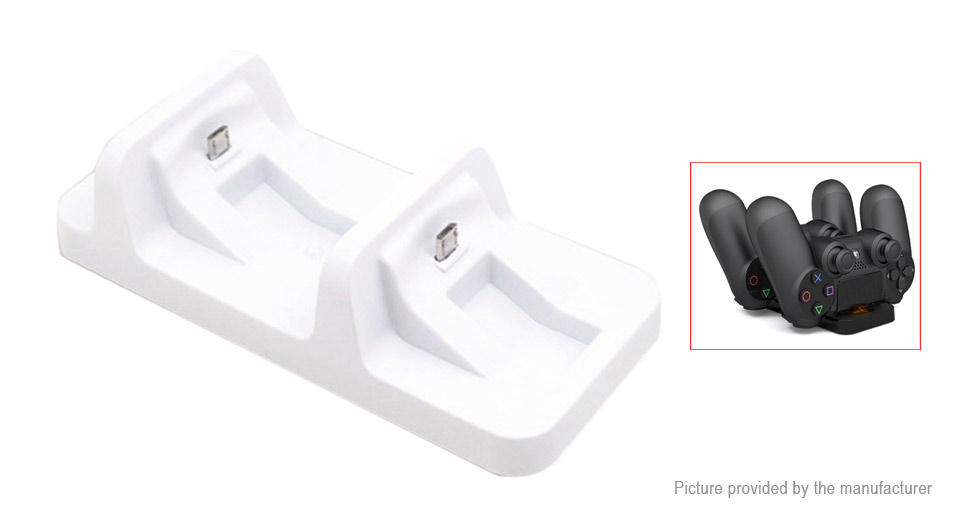Dual Charging Docking Station for PS4 Wireless Controller