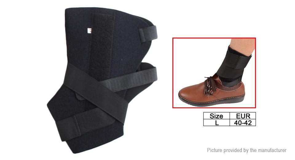 Adjustable Fixed Support Ankle Protect Belt Brace (Size L)