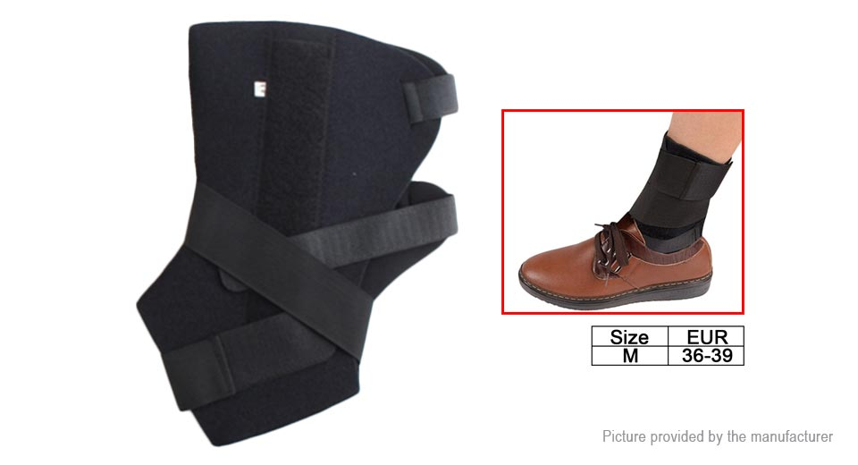 Adjustable Fixed Support Ankle Protect Belt Brace (Size M)