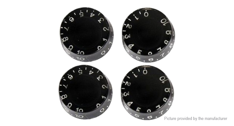 Speed Control Knob for Electric Guitar (4-Pack)