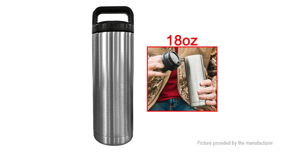 Image of 18oz Vacuum Insulated Stainless Steel Water Bottle