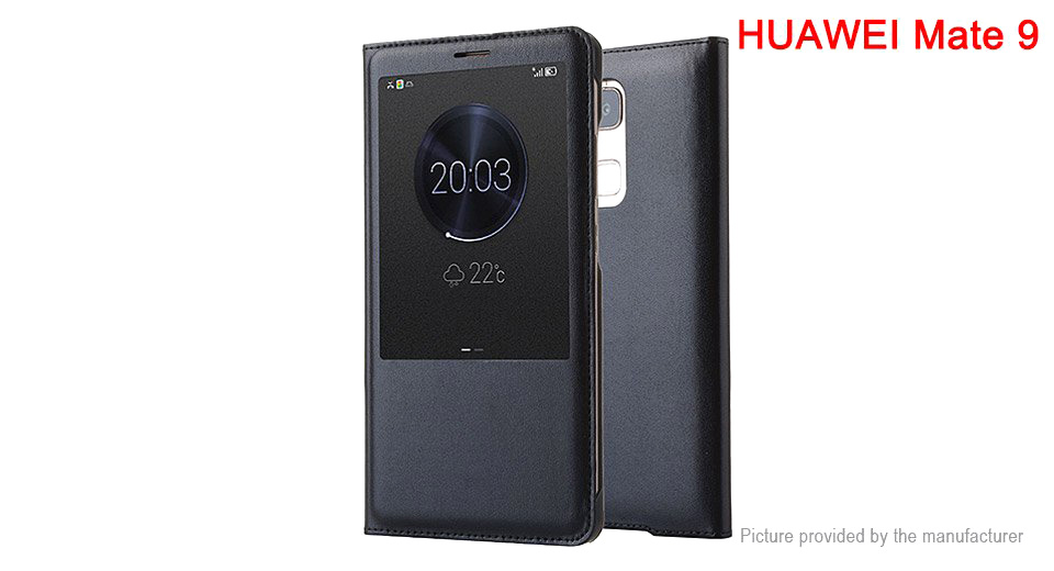 Protective PU Leather Flip-Open Case for Huawei Mate 9 Huawei Mate 9, Black