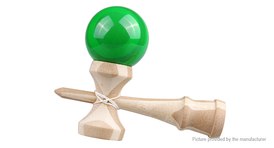 Professional Wooden Kendama Skillful Juggling Ball Game Toy