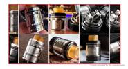 Authentic Wotofo Serpent SMM RTA Rebuildable Tank Atomizer