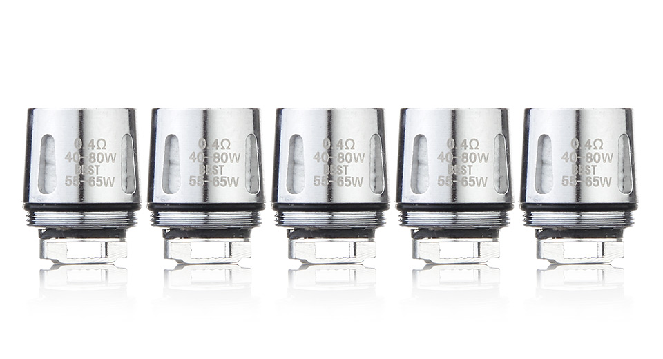 Replacement V8 BABY-Q2 Coil Head for SMOK TFV8 BABY Clearomizer (5-Pack)