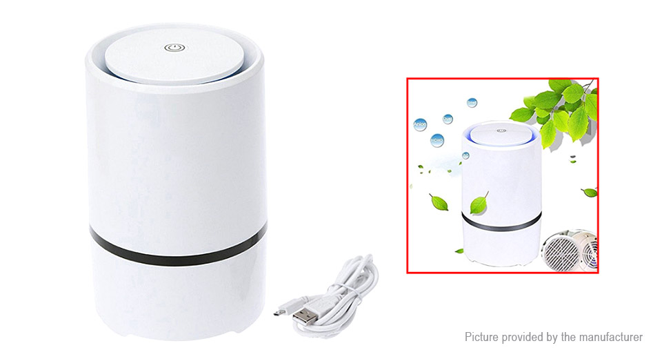 Portable Negative Ion Anion Air Purifier Air Ozone Ionizer Freshener