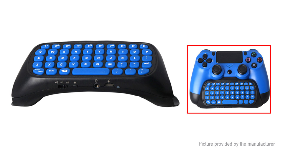 2.4G Wireless Keyboard for PS4/PS4 ...