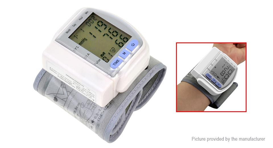 Product Image: ck-102s-digital-wrist-blood-pressure-monitor