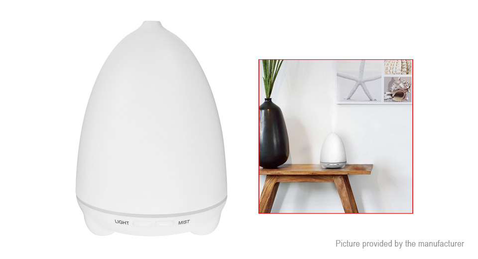 Silent Ultrasonic Humidifier Aroma Spray Aromatherapy Air Purifier (US)