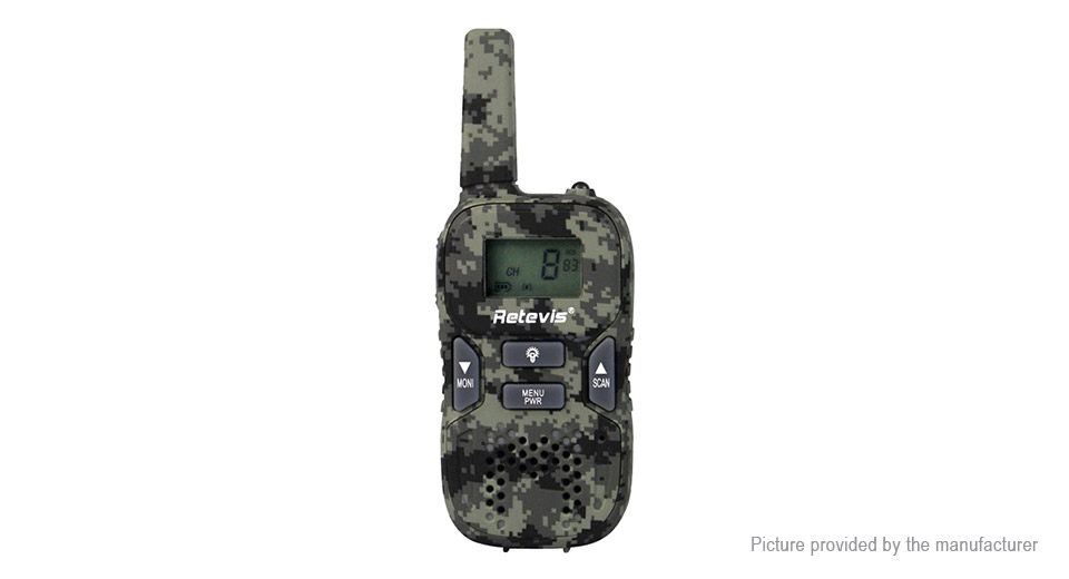 Authentic Retevis RT-628 Portable Two-Way Radio Walkie Talkie for Children