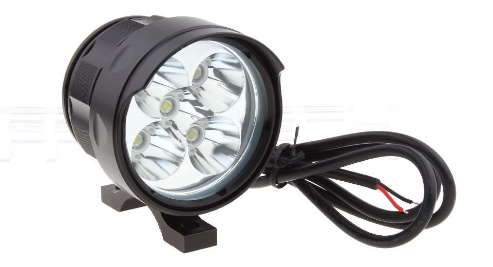 6W 5*LED 5-Mode 1750LM LED Motorcycle Scooter Headlamp Spotlight