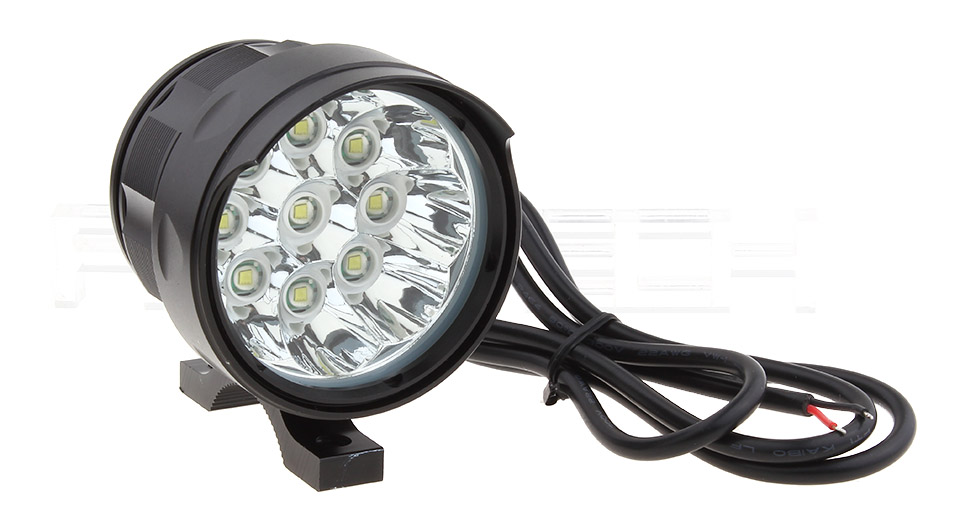6W 9*LED 5-Mode 3150LM LED Motorcycle Scooter Headlamp Spotlight