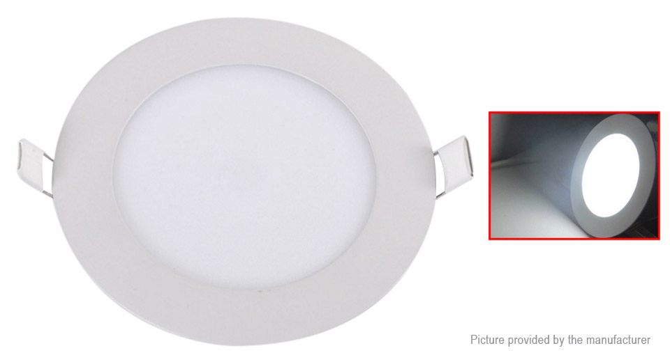 Dimmable Ultrathin 18W LED Ceiling Round Panel Light Lamp