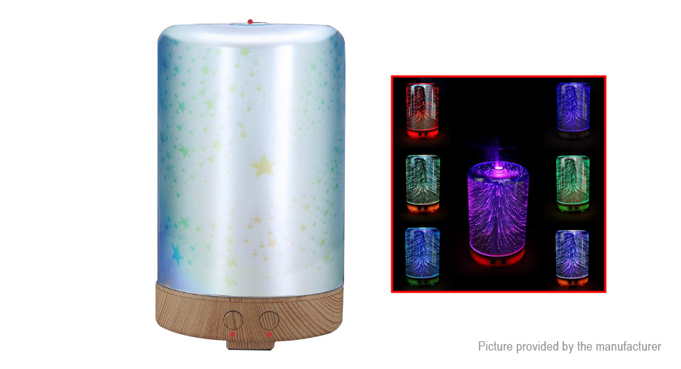 3D Mini Aromatherapy Essential Oil Aroma Diffuser Air Humidifier (UK)